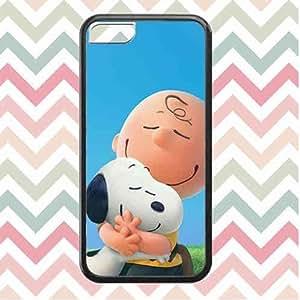 Anime Brand Logo Popular Movie Iphone 5c Funda Case, Charlie Brown And Snoopy