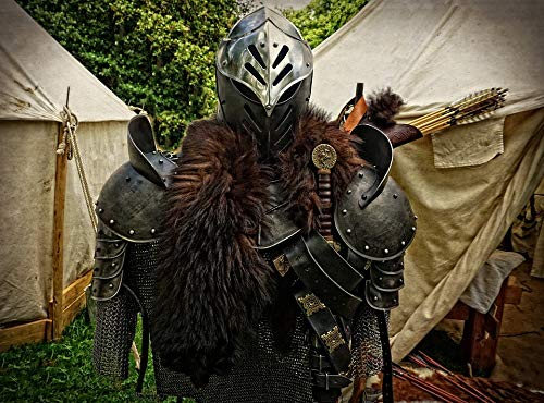 Home Comforts Laminated Poster Harnisch Dragon Slayer Armor Middle Ages Metal Vivid Imagery Poster Print 11 x - Slayer Dragon Poster