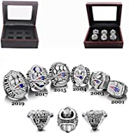 NFL Official 2019 Championship Ring Tom Brady Super Bowl The New England Patriots 6 Years Rings Set, 2001-2019