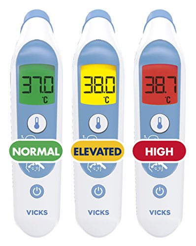 Vicks Forehead Thermometer with Fever InSight VFH100 by Vicks (Image #3)