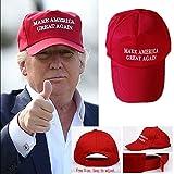 NEW! Make America Great Again Hat Donald Trump 2016 Republican Adjustable Red Cap