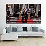 Make a statement in your home or office décor and be inspired. Choosing a Giant Artwork will make a huge statement in your room. All you need is a large bold piece of art to instantly give your home or office a stylish upgrade Printed on adhe...