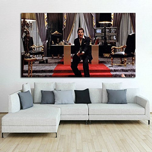 Poster Mural Scarface Mob Gangster 40x60 inch (100x150 cm) Adhesive Vinyl - Internation Mail