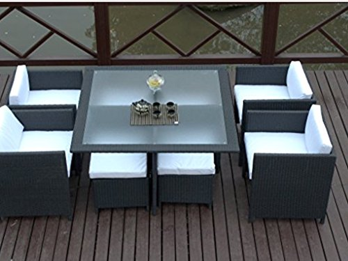 9-Piece-Outdoor-Sectional-Dining-Wicker-Patio-Furniture-Set-4-Chairs4-Footstool