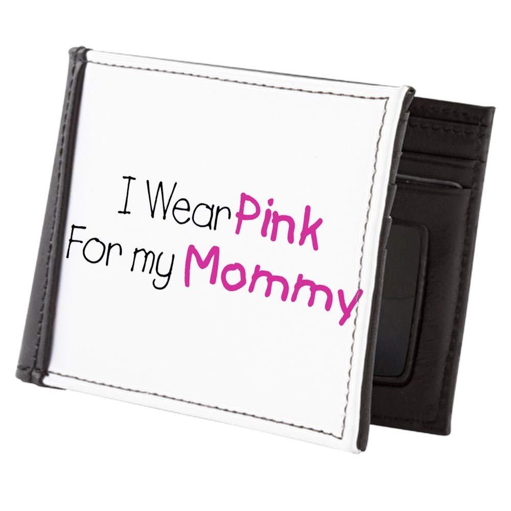 Royal Lion Mens Wallet Billfold Cancer I Wear Pink Ribbon For My Mommy