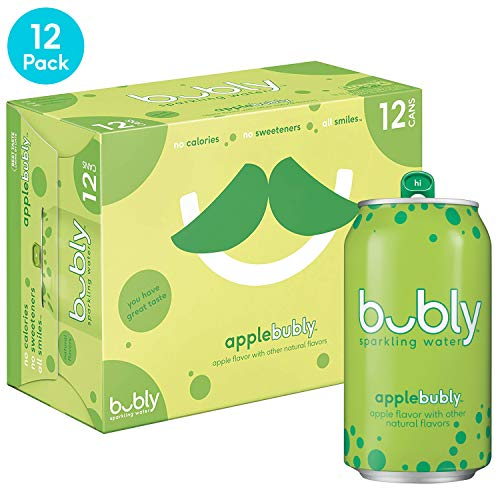 bubly Sparkling Water, Apple, 12 fl oz. cans (12 Pack) ()