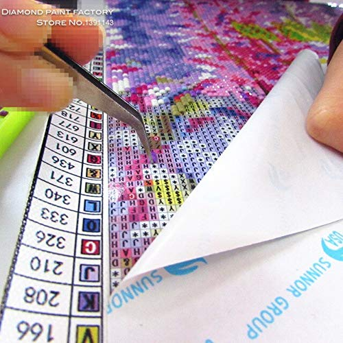 DishyKooker New Mosaic Diamond Embroidery DIY 3D Painting Needlework Cross Stitch Pattern Square Rhinestone Lemon and Cup Multigang Decor Size 35X35cmX3pcs by DishyKooker (Image #5)