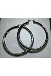 Fabulous Women's Fashion Designer Hollow Hoop Earrings