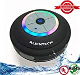 Best Iphone Speakers - Waterproof bluetooth speaker with color changing LED light Review