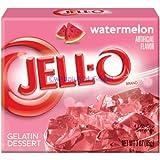 Jell-O Watermelon, Gelatin Dessert-24 pk