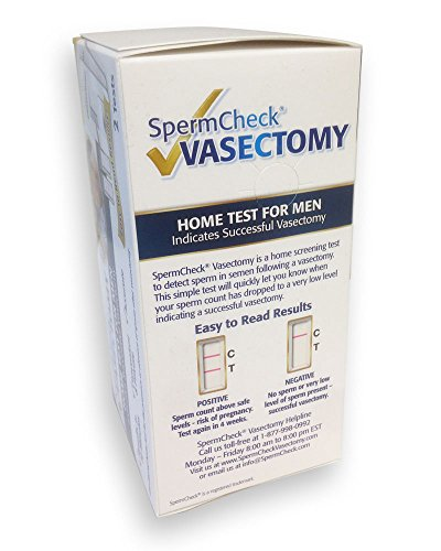 post vasectomy test instructions