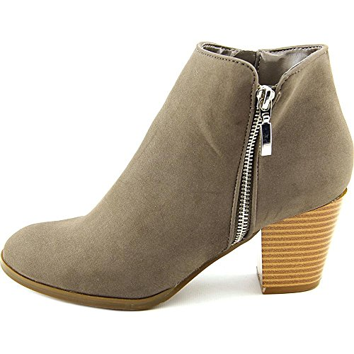 Boots Toe Style Jamila Womens Gris Almond Fashion amp; Leather US Co Ankle tZYqxzZ
