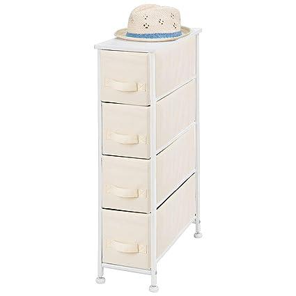 Amazon.com: mDesign Torre de almacenamiento vertical ...