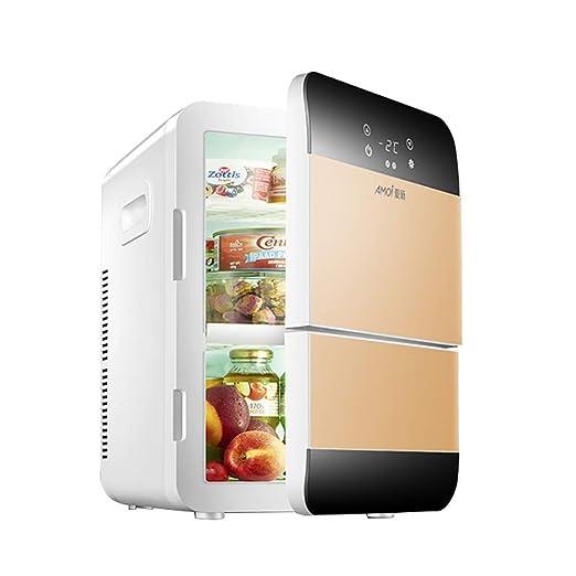 ZZXXRR Refrigerador para automóvil 20L Control de Temperatura de ...