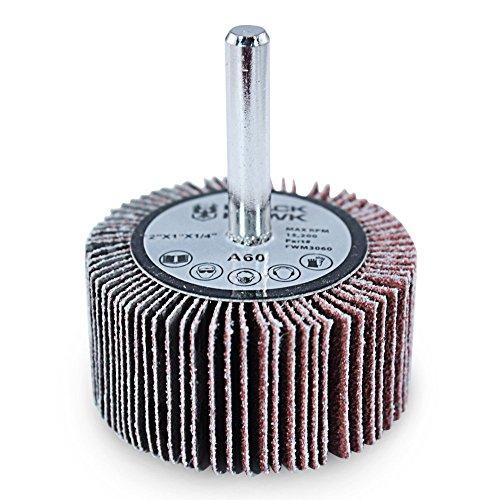 "10pcs Abrasive Flap Wheels 1/""x 1/"" Sading Disc A//O 80 Grit 1//4/"" Monted Shank"