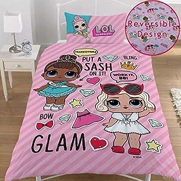 Unbekannt Lol Surprise Glam Puppen Bettwäsche Set Für Mädchen