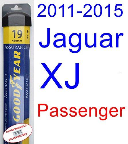 2011-2015 Jaguar XJ Wiper Blade (Passenger) (Goodyear Wiper Blades-Assurance) (2012,2013,2014) by Goodyear Wiper Blades