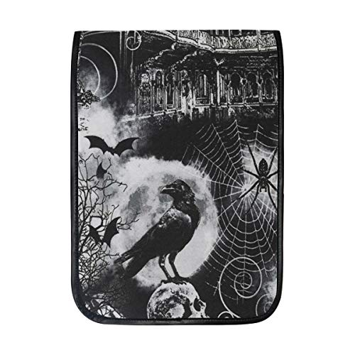 Timeless Treasures Wicked Spooky Haunted House Sleeve Case Compatible with iPad Pro 10.5/9.7 iPad Air/Samsung Galaxy Tab Case Sleeve Carrying Protector Bag