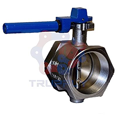 Butterfly Valve | Threaded | Buna Seat | Size 3"