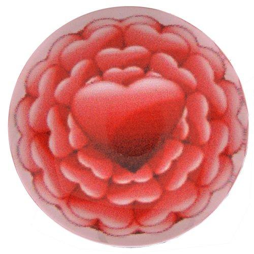 Morella click-button ® femme lot de 5 boutons pression pour bijou femme à motif cœur et fleurs