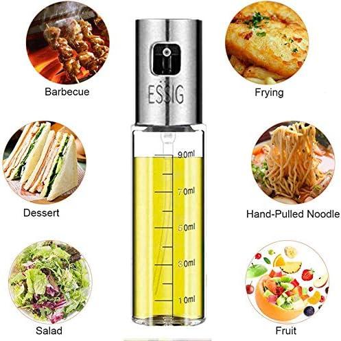 BBQ Pasta dispensador de aceite con cepillo para cocinar vinagre 100 ml Pulverizador de aceite Nifogo botella de aceite botella de aceite ensalada