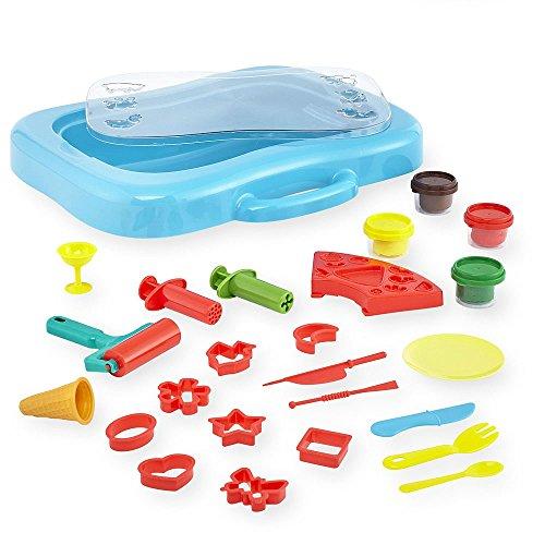 Imaginarium 2-in-1 Activity Dough Table Set (Blue Glitter Play Dough compare prices)