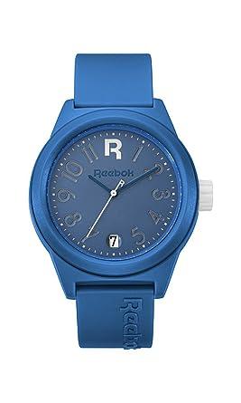 : Reebok Classic Azul y Blanco correa de PU reloj