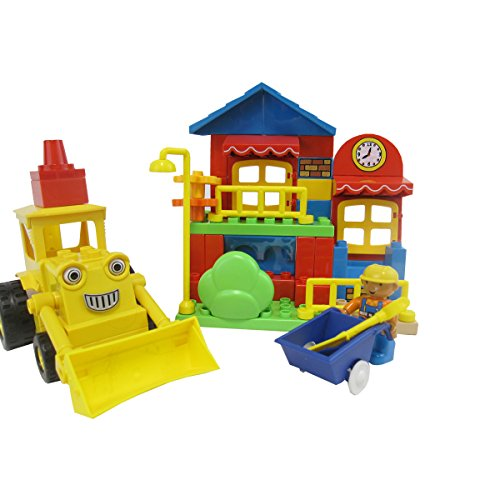 Dream Builders  City Construction Bulldozer Lego Style Bl...