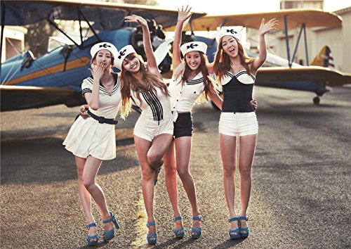 Fanstown Astro Twice Kpop Poster thicken coated paper Fanmade 28cm x42cm with lomo card#1 (SISTAR 01)