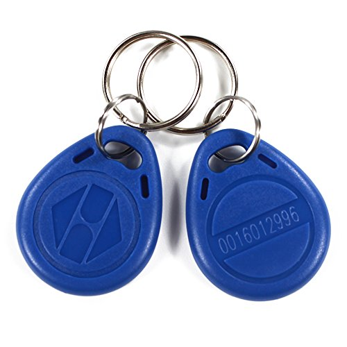 20Pieces EM4100 Key Fob 125KHz RFID ABS Keychain Tag Read...