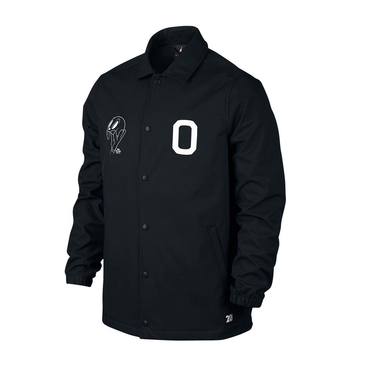 Nike Mens Air Jordan 11 Jacket Black/White Large