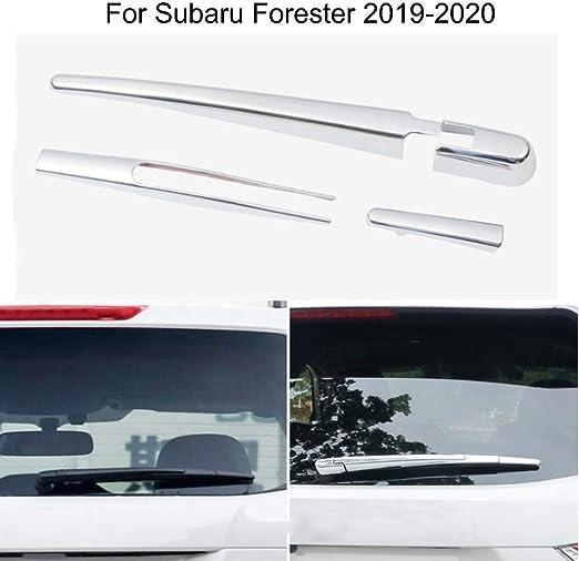 Yingchi Car Silver ABS Chrome Rear Window rain Wiper Blade Cover Trim for VW Volkswagen Atlas 2018 2019 2020