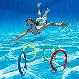 Jeu d'anneaux INTEX pour piscine les 4 pièces
