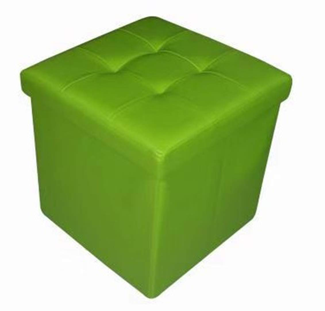 Lime Green Storage Ottoman Home Design