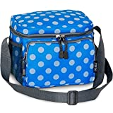 Everest Cooler Lunch Bag,OneSize,Blue Dots