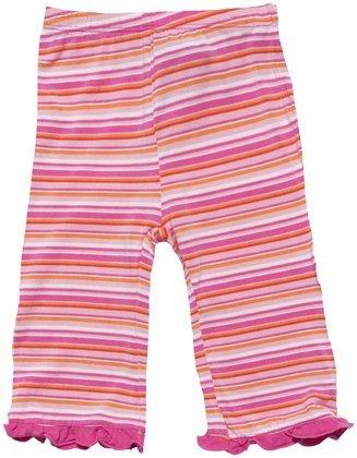 Kickee Pants Print Ruffle Pants (Baby) - Sunset Stripe-12-18 Months