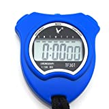 Leap Digital Chronograph Stopwatch Sports Watch Timer Calendar Alarm Clock (Blue)