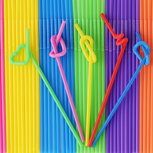 - Be Lighted Long Drinking Straws, 200 Pack, 10-13