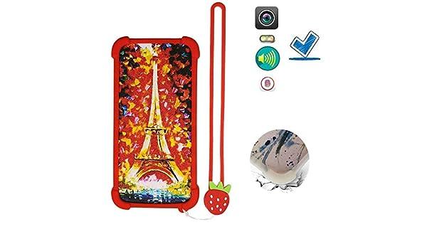 Funda para Selecline Smartphone S2 2019 Funda Silicone Border + Placa Dura de la PC Stand Carcasa Case Cover TT: Amazon.es: Electrónica