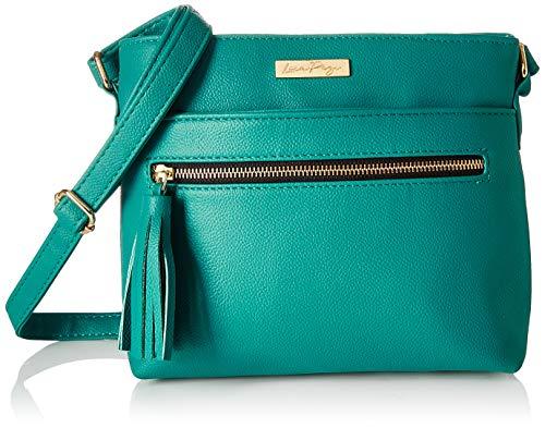 - Lica Pezo Front Zip Women Sling Bag (Turquoise)