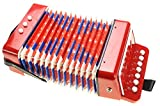 PowerTRC Children's Musical Instrument Accordion (Red)