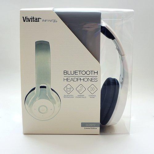 Vivitar Infinite Bluetooth Headphones (White)