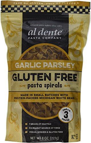 Al Dente Garlic Parsley Gluten Free Pasta Spirals (Pack of 6)