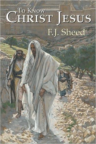 Book To Know Christ Jesus