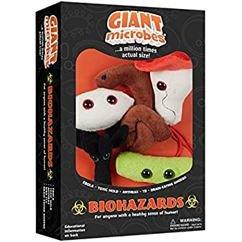 Giantmicrobes Themed Gift Boxes - Biohazards