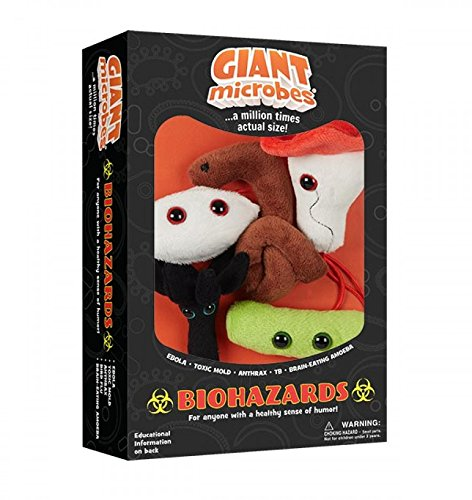 Giant Microbes Plush - GIANT MICROBES Giantmicrobes Themed Gift Boxes - Biohazards