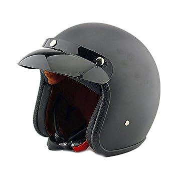 244e3cb5eebf1 Casco de Motocicleta Vintage para Hombres y Mujeres