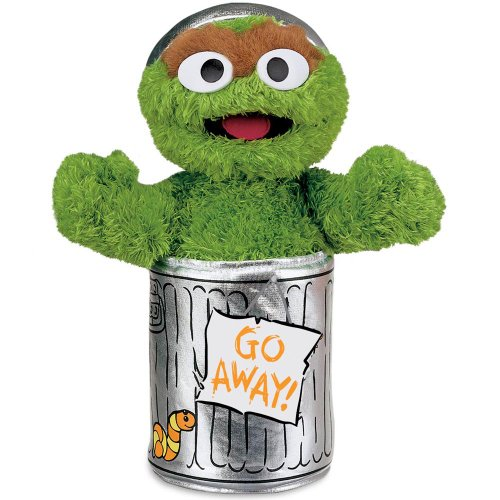 Gund Sesame Street Oscar The Grouch Stuffed Animal (Sesame Street Stuffed Animals)