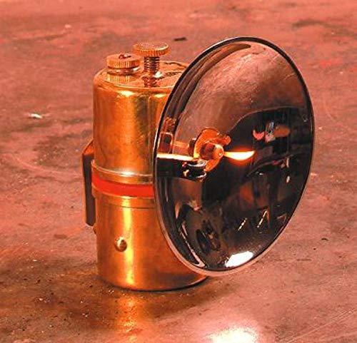J.K. Dey & Sons Carbide Cap Lamp with Flint Striker