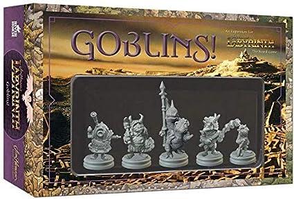 Dentro del Laberinto - Pack de Expansión para Juego Goblins, Versión Inglesa: Amazon.es: Juguetes y juegos